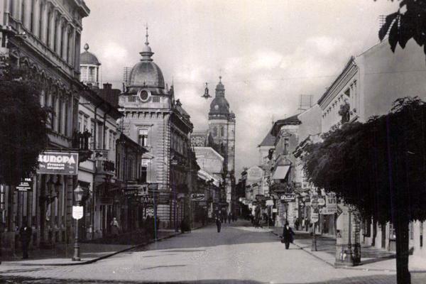 Mlynská ulica v Košiciach v minulosti.