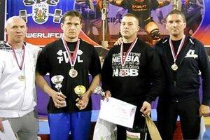 Zľava Milan Meszároš, Pavol Slíž, Michal Demeter a Jaroslav Jančovič.