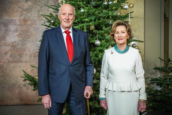 Kráľ Harald a kráľovná Sonja