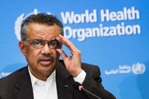 Tedros Adhanom Ghebreyesus, generálny riaditeľ Svetovej zdravotníckej organizácie.
