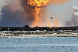 Prototyp lode od SpaceX opäť pri pristátí explodoval.