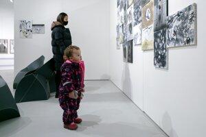 Výstavu podľa kurátora navštevovali najmä mladí ľudia a študenti.