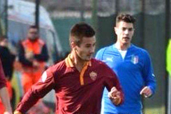 Tomáš Vestenický v nedeľu po prvýkrát nastúpil v drese AS Rím.