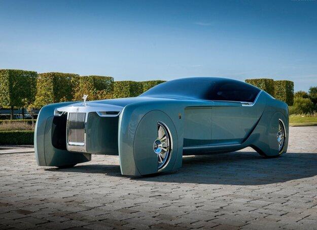 Elektrický koncept Rolls-Royce 103EX z roku 2016 bol hlavným zdrojom inšpirácie.