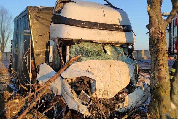 Fotka z dopravnej nehody