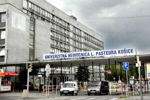Univerzitná nemocnica L. Pasteura v Košiciach.