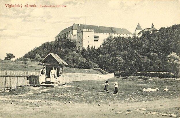 Pavol Socháň: Vígľašský zámok, 1912.