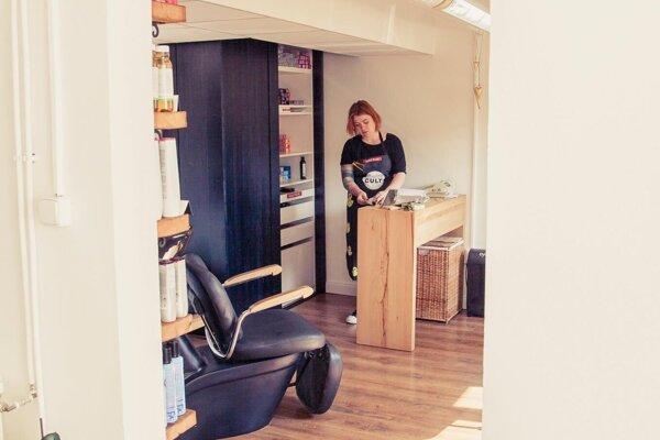 Tatiana Rychtarechová má svoj salón zatvorený od decembra.