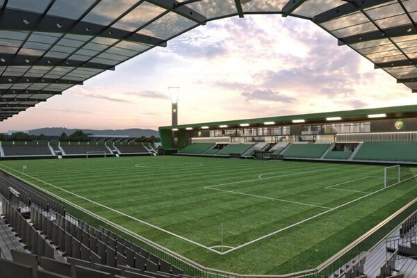 Výstavba Futbal Tatran Arény by sa mohla rozbehnúť na jar.