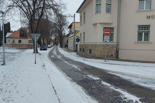 Štúrova ulica v Piešťanoch.