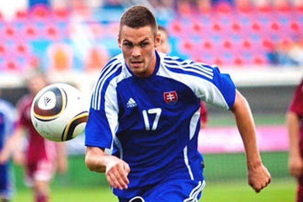 Róbert Valenta v minulosti hral aj za reprezentáciu Slovenska do 21 rokov.