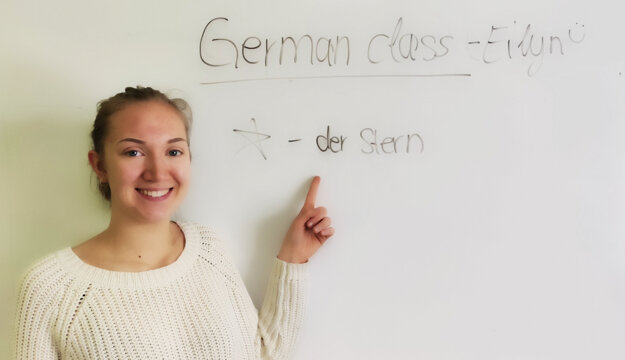 Eilyn z Nemecka sa páčia túry po rebríkoch vo Vrátnej.