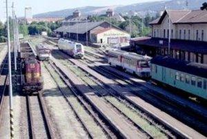 Vlaková stanica v Nitre.