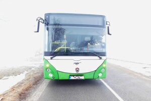 Vodič autobusu bol v službe.