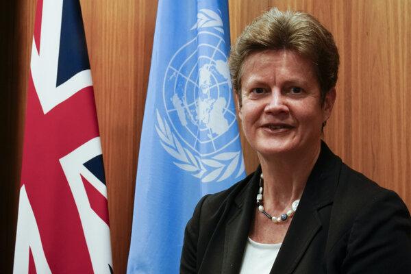 Britská veľvyslankyňa OSN Barbara Woodward