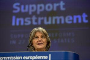 Komisárka pre súdržnosť a reformy Elisa Ferreirová.