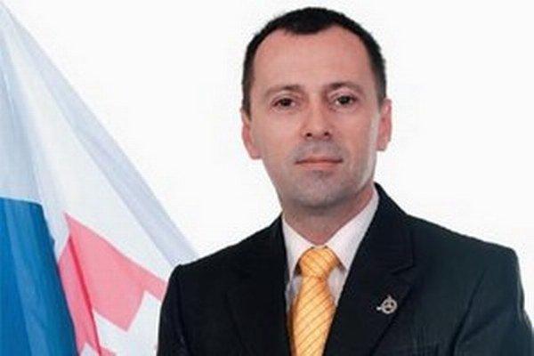 Miloslav Horka, krajský predseda SNS Nitra, kandidát na poslanca NSK.
