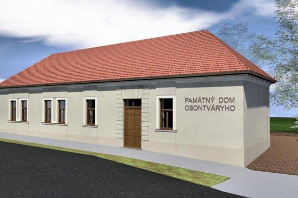 Vizualizácia plánovaného múzea.