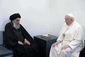 Pápež František sa stretol so šiitským duchovným ajatolláhom Sístáním.