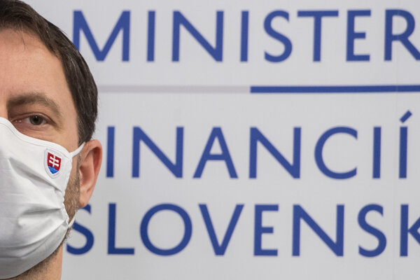 Minister financií Eduard Heger.