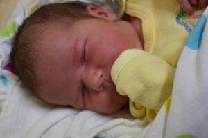 Natália Plevová (3560 g, 51 cm) sa narodila 27. februára Kataríne a Petrovi z Hrabovky.