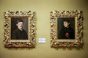 Autoportrét maliara a jeho manželky Cecílie
