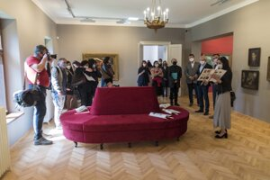 Z vlaňajšieho otvorenia novej expozície vo vile D. Skuteckého