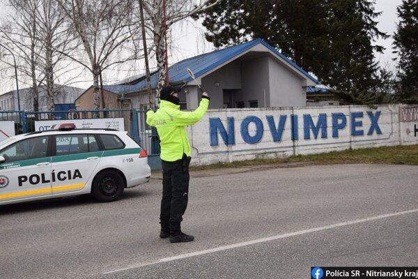 Kontroly dopravných policajtov v okrese Nové Zámky