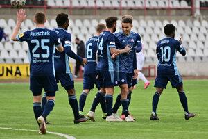 Hráči ŠK Slovan Bratislava.