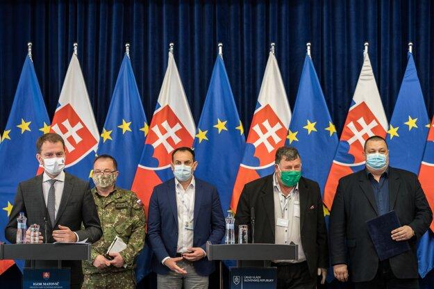 08. apríl 2020. Predseda vlády Igor Matovič na tb k ochoreniu covid-19 v rómskych osadách.