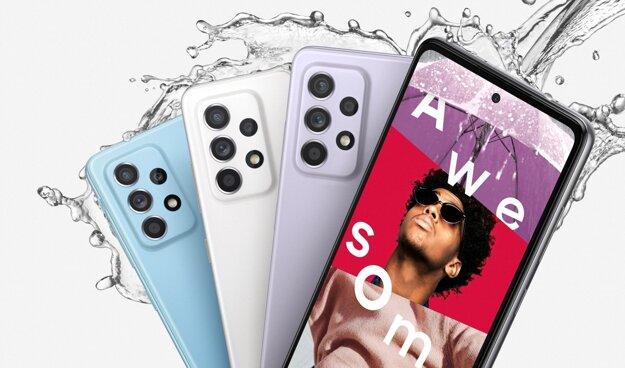 Nová séria smartfónov ponúka odolnosť v štandarde IP67.