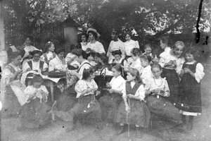 Kurz v Štítniku z roku 1912.