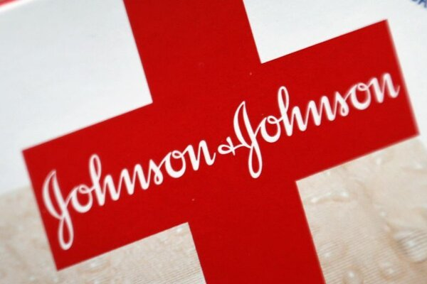 Logo spoločnosti Johnson & Johnson.