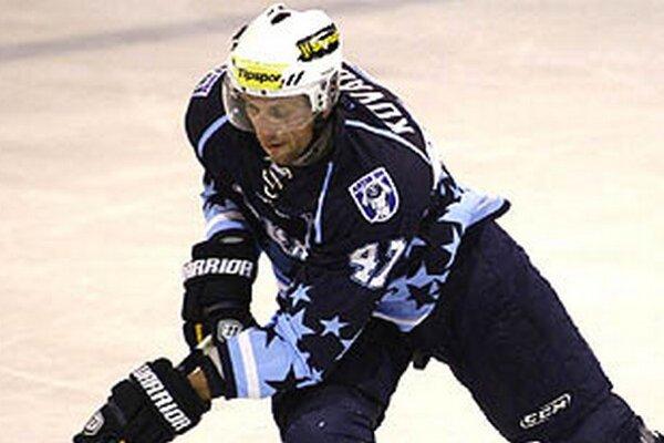 Najproduktívnejším Nitranom na turnaji vo Zvolene bol Miroslav Kováčik.