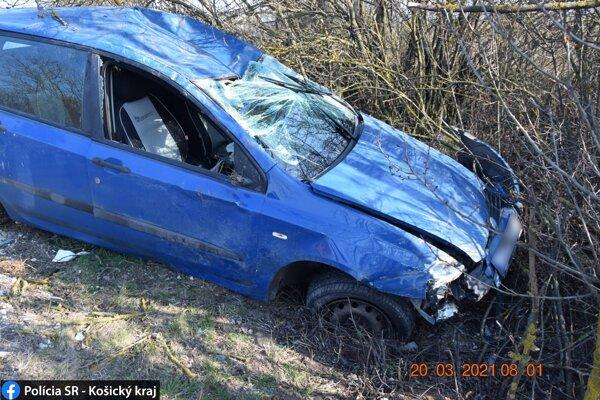 Vodička sa zranila ľahko.