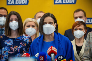 Ministerka spravodlivosti Mária Kolíková zo Za ľudí podáva demisiu.