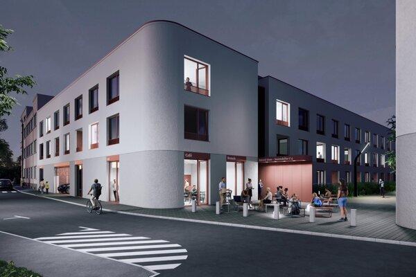 Takto by mala vyzerať Jesenského ulica so 60 novými nájomnými bytmi mesta.