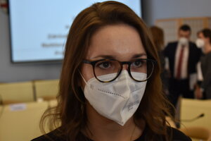 Novozvolená riaditeľka PKO Barbora Rusiňáková.