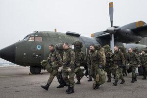 Príslušníci Bundeswehru.