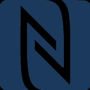 Logo technológie NFC.
