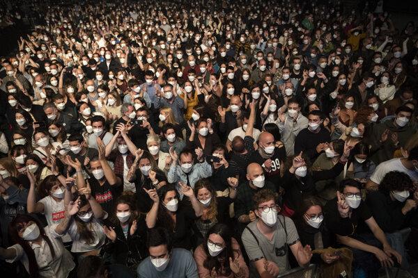 Na koncert povolili prísť päťtisíc ľuďom.