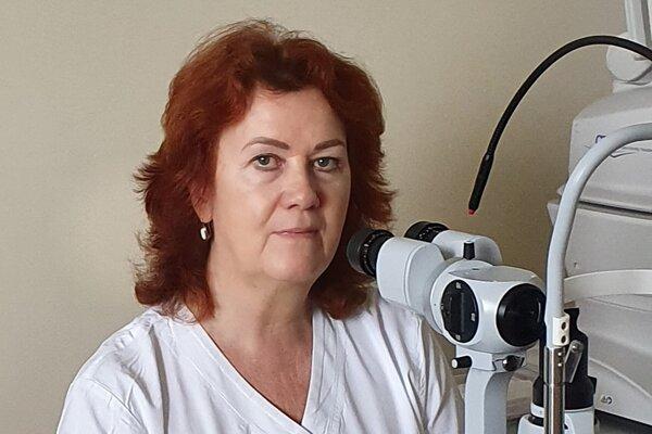 Ida Simonidesová, primárka očného oddelenia bojnickej nemocnice
