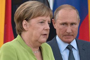 Merkelová spolu s Putinom diskutovali o vakcínach