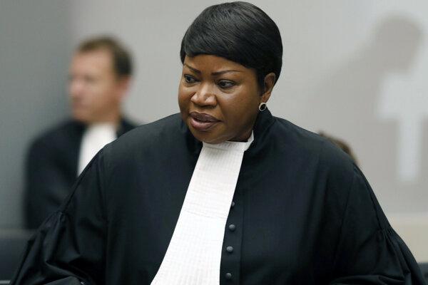 Na archívnej snímke z 28. augusta 2018 hlavná prokurátorka Medzinárodného trestného súdu (ICC) v holandskom Haagu Fatou Bensoudová.