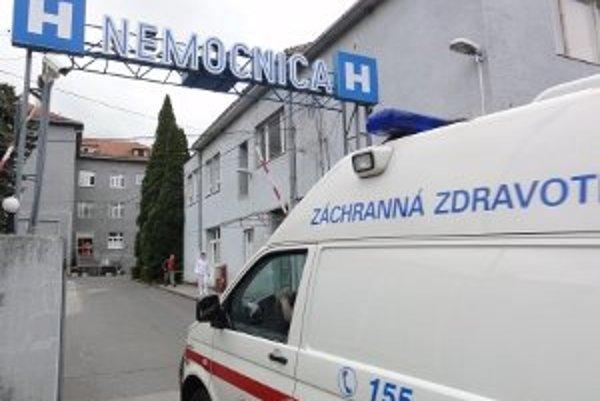 Nemocnica v Zlatých Moravciach je poslednou mestskou nemocnicou na Slovensku.