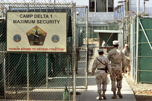 Vojenské väzenie Guantanámo na archívnej snímke z 27. júna 2006.