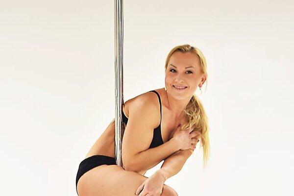 Trénerka pole dance Milada Huláková