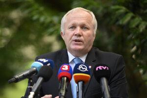 Štátny tajomník na ministerstve pôdohospodárstva Martin Fecko.