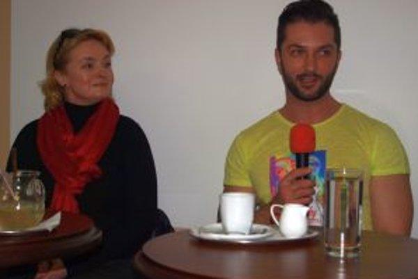 Moderátorkou besedy s Viktorom Horjánom bola Eva Pavlíková.