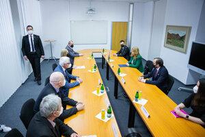 Prezidentka Čaputová na návšteve SAV.
